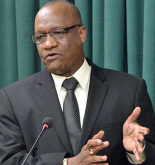 Joseph Harmon (Photo courtesy of Guyana Chronicle)