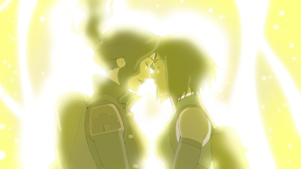 "Scene from ""The Legend of Korra"""