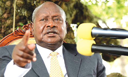 Ugandan President Yoweri Museveni (Photo courtesy of The Citizen of Tanzania)