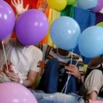 Anonymous participants in Iran's Pride celebration in 2010.