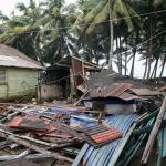 Destruction left in the wake of Hurricane Irma (Photo by Titiana Fernandez courtesy of CVC)