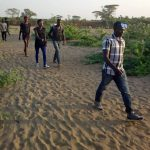 LGBTI refugees trek to the office of the U.N. High Commissioner for Refugees