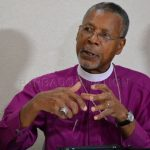 """Archbishop John Holder: Churches that speak against homosexuality """"seem to be misreading and misinterpreting the Bible"""" (Photo courtesy of Nation News of Barbados)"""