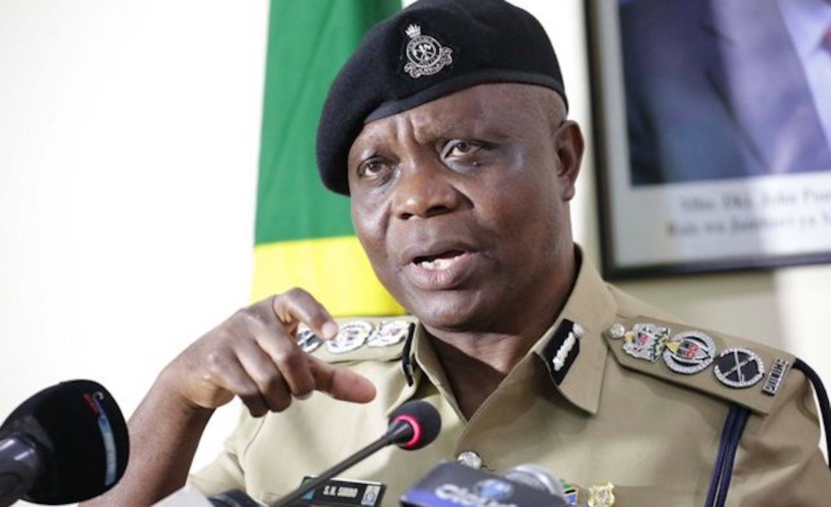 Lazaro Mambosasa, police chief of Dar es Salaam, Tanzania. (Photo courtesy of Swahili Times)