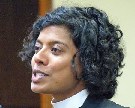 The Rev. Winnie Varghese (Photo by Colin Stewart)