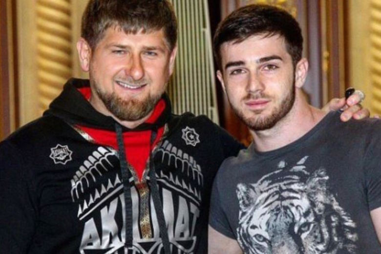 Zelim Bakaev (right) in happier times, with Chechen strongman Ramzan Kadyrov (Photo courtesy of CrimeRussia.com)