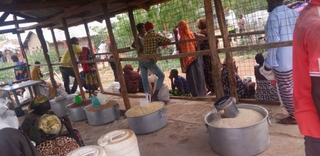 Kakuma Camp food distribution site