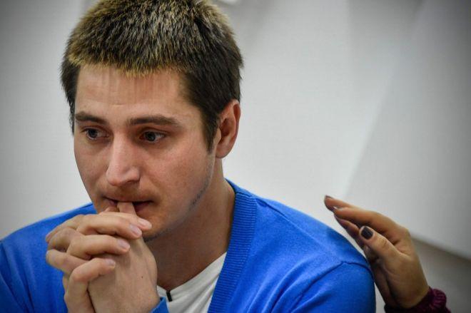 Maxim Lapunov (Photo courtesy of AFP)
