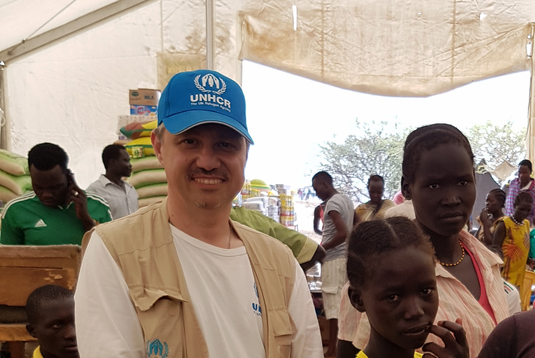 Tayyar Sukru Cansizoglu (Photo courtesy of UNHCR)