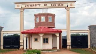 Entrance way to the University of Ado Ekiti in southwest Nigeria (Photo courtey of Facebook)