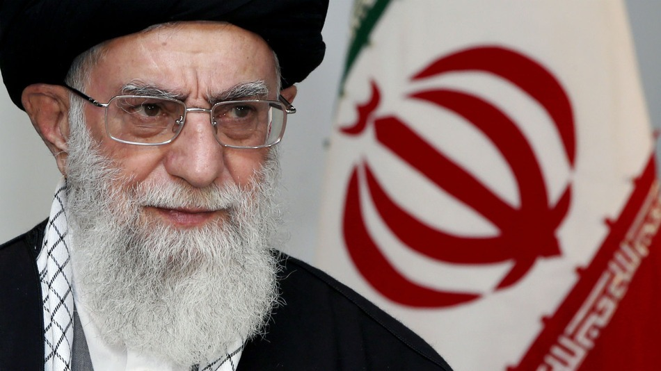 Ayatollah Ali Khamenei (Photo courtesy of Khamenei's office via Pinterest)