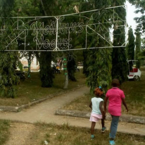 Bonamoussadi public garden in Douala -- the scene of the arbitrary arrests. (Photo courtesy of Jacks Oke)