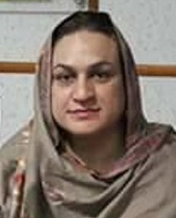 Arzu Khan, board member of TransAction Pakistan (Photo courtesy of Front Line Defenders)