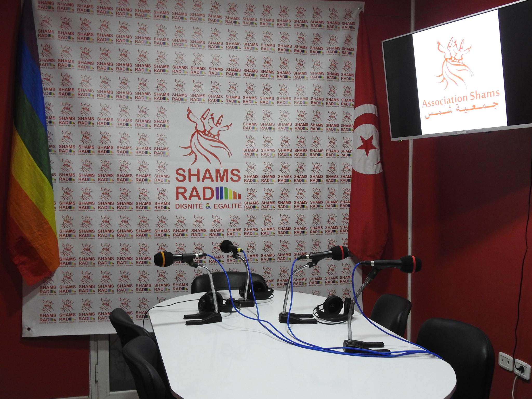 Shams Rad studio (Photo courtesy of Shams Rad via Facebook)