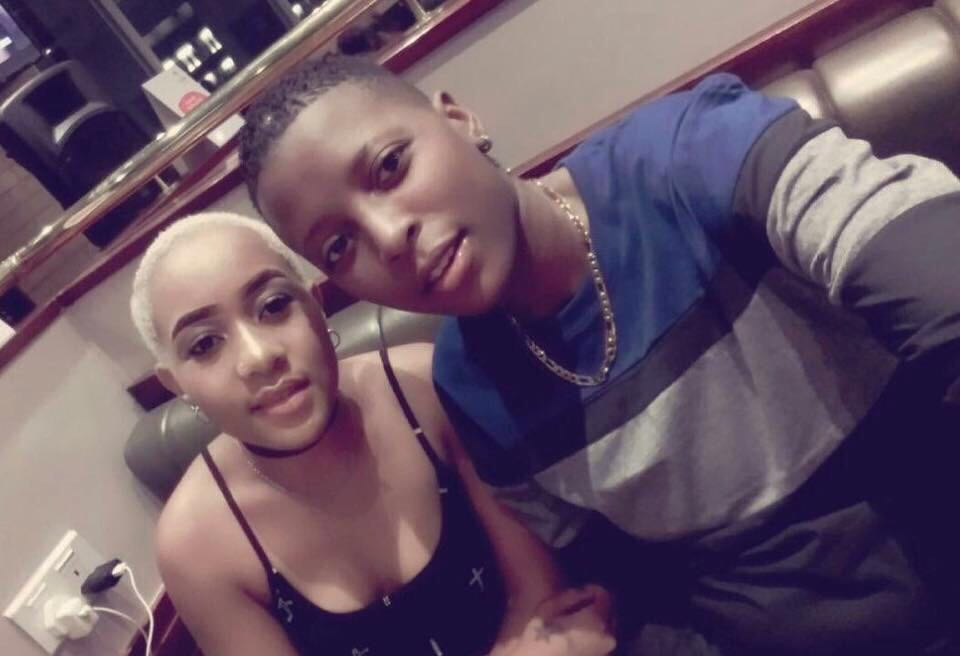 A third photo of the alleged Zambian lesbians who are the targets of a police hunt. (Photo courtesy of Zambian Watchdog)