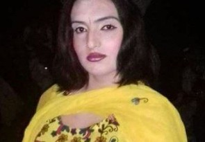 Sonia, a trans rights activist, was shot on Jan. 17 in Peshawar, Pakistan. (Photo courtesy of Front Line Defenders)