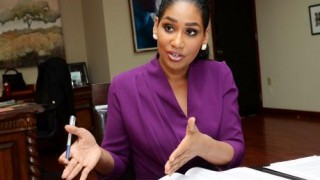 Jamaican member of parliament Lisa Hanna seeks harsher punishment for pedophiles -- a change that some conservative Christians oppose. (Rudolph Brown photo courtesy of the Gleaner)
