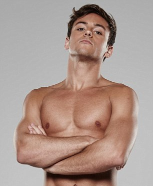 Tom Daley (Photo courtesy of the Daily Mail)