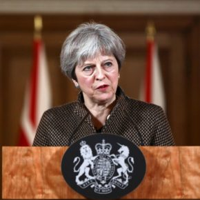 U.K. Prime Minister Theresa May (Photo courtesy of The Independent)