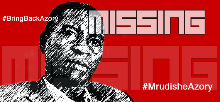 Poster calls for the return of missing journalist Azory Gwanda. (Photo courtesy of Media Institute of Southern Africa)
