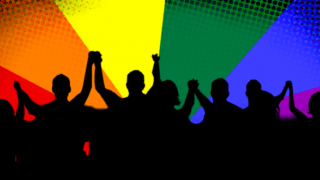 Banner for 2018's International Day Against Homophobia and Transphobia.