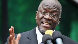 Tanzania President John Magufuli (Photo courtesy of eNCA)