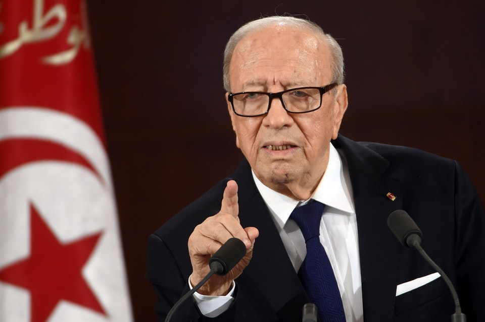 Beji Caid Essebi, president of Tunisia (Photo courtesy of Reddit)
