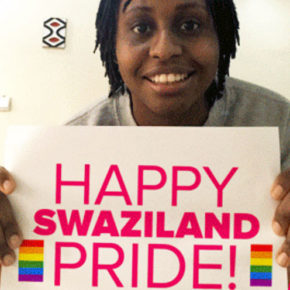 An All Out-sponsored show of support for Swaziland Pride.