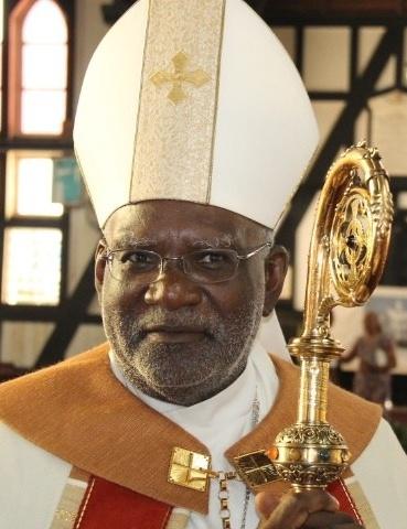 Anglican Bishop Charles Davidson of Guyana and Suriname (Photo courtesy of Demerara Waves)