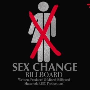 "Graphic for the song ""Sex Change"" on YouTube."
