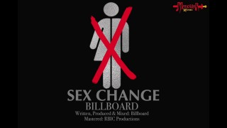"""Graphic for the song """"Sex Change"""" on YouTube."""