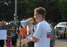 "Maxim Neverov, Russian teenager convicted of ""gay propaganda."" (Photo courtesy of the Russian LGBT Nework)"