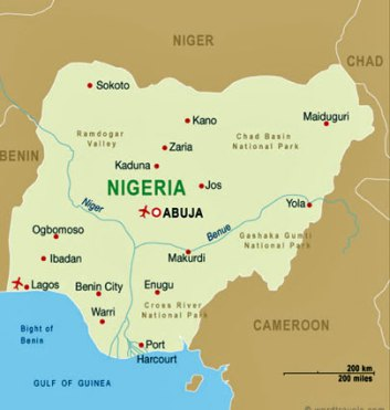 The blackmail attempt occurred in Port Harcourt in in southeastern Nigeria.