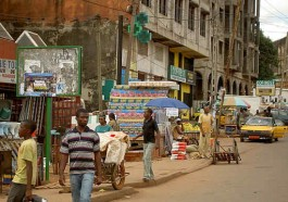 Yaounde street scene (Photo from multiple online sources)