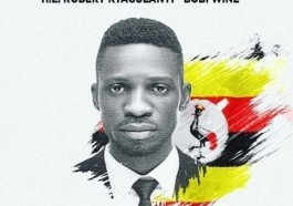 Poster seeks the release of Bobi Wine (Ugandan member of parliament Robert Kyagulanyi)