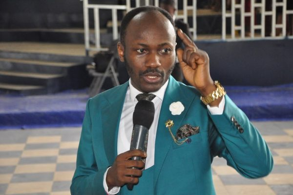 Apostle Suleman Johnson, anti-gay hate preacher from Nigeria.