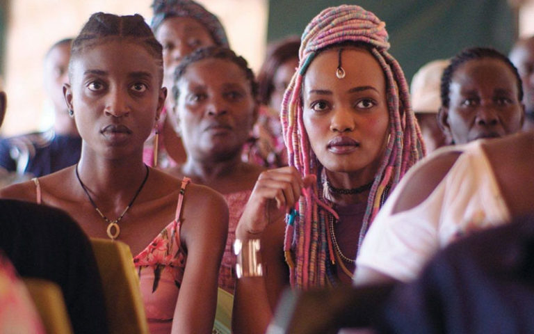 "Scene from the Kenyan film ""Rafiki,"" which was blocked in its bid to be Kenya's nominee for an Oscar."
