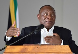 Johannesburg Pride urged South African President Cyril Ramaphosa to take action on Tanzania's anti-gay crackdown. (GCIS photo courtesy of Business Live)