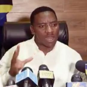 "Paul Makonda, the regional commissioner of Dar es Salaam, launched Tanzania's latest anti-gay panic by announcing plans for a gay ""round-up."" (Photo courtesy of YouTube)"