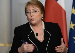 Michelle Bachelet, U.N. high commissioner for human rights. (Photo courtesy of The Independent)