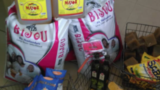 Food purchased for gay Muslim prisoners in northern Cameroon. (Photo courtesy of AJSG)