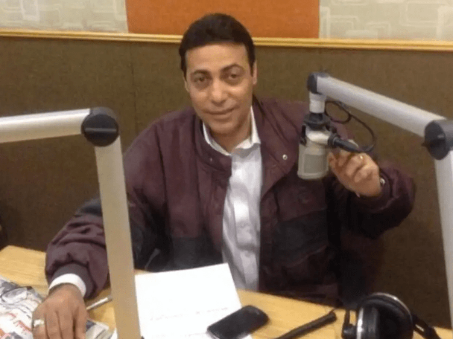 TV talk show host Mohammed al-Ghaity was sentenced to one year in prison for interviewing a gay man. (Photo courtesy of The Independent)