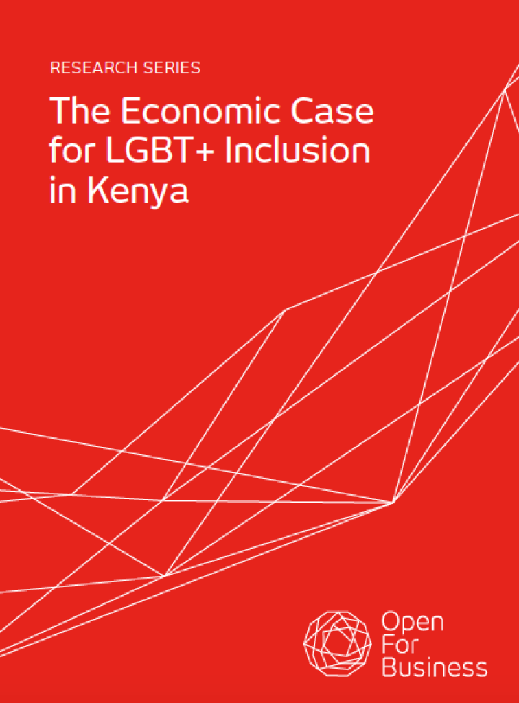 In Kenya, discrimination against LGBT+ people costs the nation $1.3 billion per year, or 1.7% of GDP - according to a new report. Click to download it.