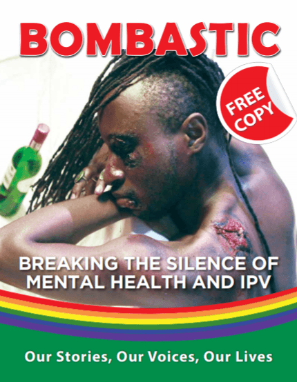 "Cover of the fourth edition of ""Bombastic"" magazine. (Photo by Kuchu Times)"