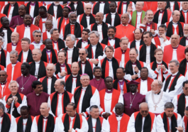 Bishops at the Lambeth Conference of 2008, when gay bishop Gene Robinson was excluded (Scott Gunn photo courtesy of ACNS)