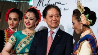 "Malaysian Tourism Minister Datuk Mohammaddin bin Ketapi: ""No gays here."" (B. von Jutrczenka photo courtesy of Deutsche Welle)"