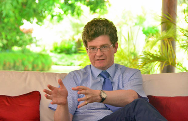 Greg Quinn, U.K. high commissioner to Guyana (Photo courtesy of the Guyana Chronicle)