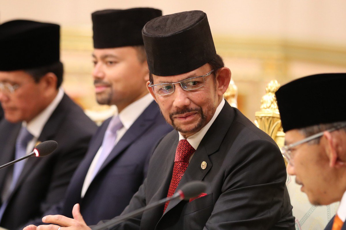 Hassanal Bolkiah, the sultan of Brunei. (Photo via EPA courtesy of the South China Morning Post)