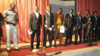 Mister Niger competition during the 2014 festival