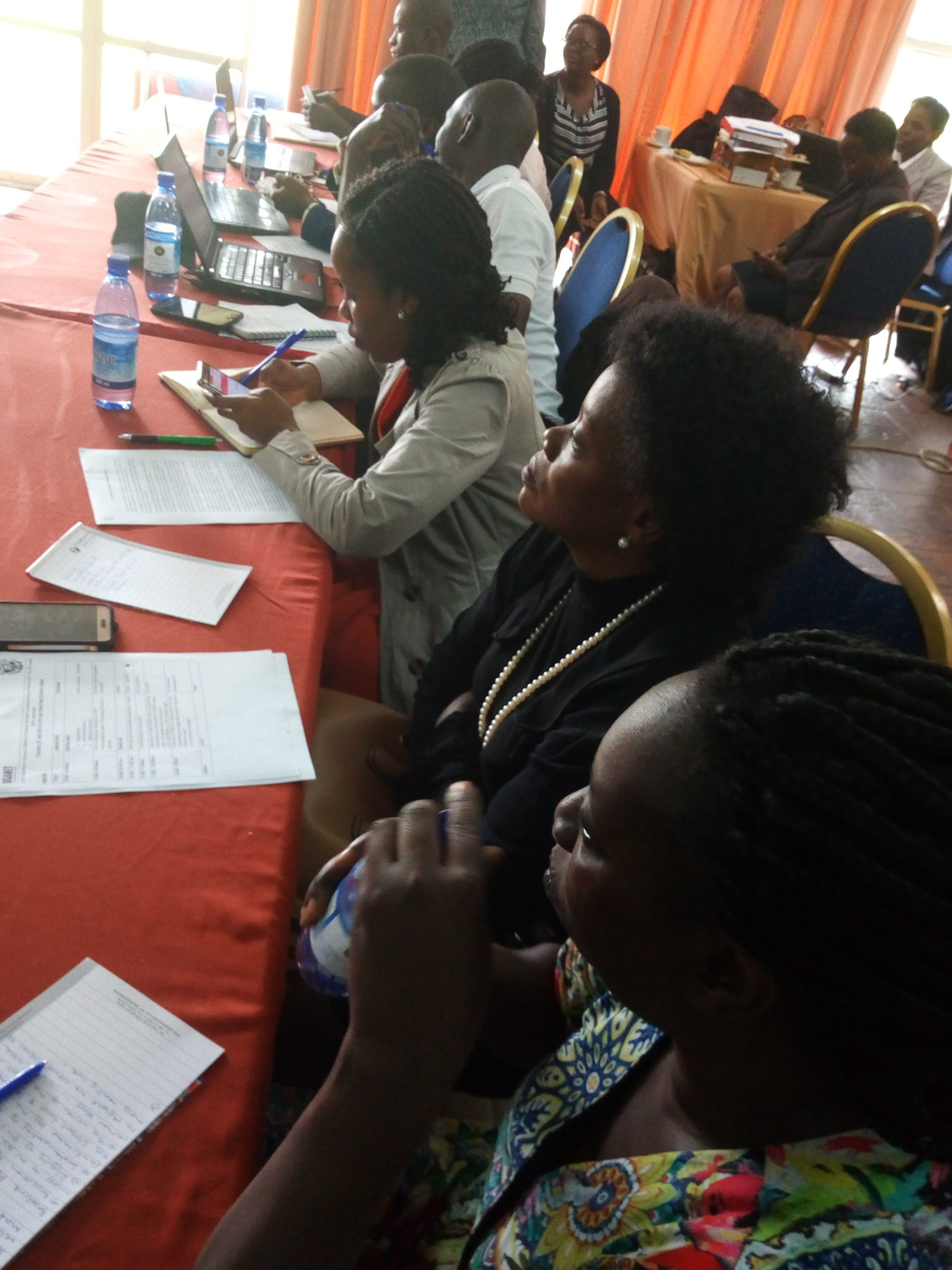Meeting of HIV Law Coalition